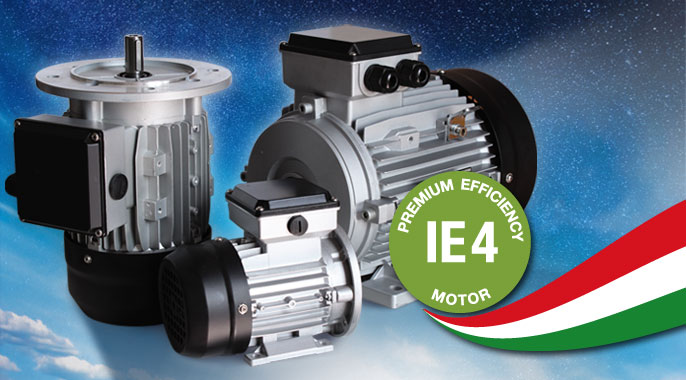 Motori Sincroni IE4 Super Premium Efficiency